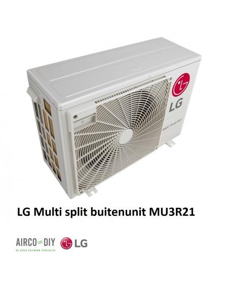 LG MU3R21 U21  Multi F invertor Buiten unit
