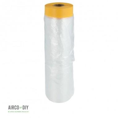 Afdekfolie met papieren tape 1400mm