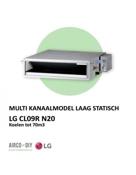LG CL09R N20 Multi Kanaalmodel Laag statisch kanaalmodel