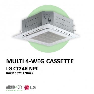 LG CT24R NP0 Multi 4-Weg Cassette