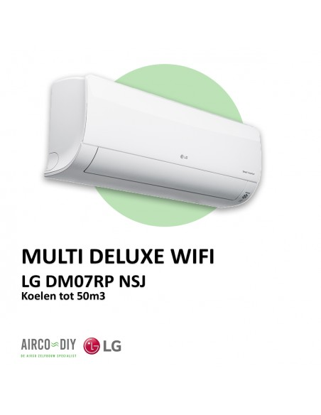 LG DM07RP NSJ Multi Deluxe WiFi wandmodel