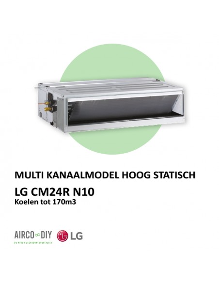 LG CM24R N10 Multi Kanaalmodel Hoog statisch
