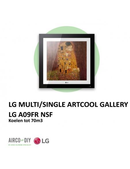 LG A09FR  NSF Multi/Single Artcool Gallery,  wandmodel