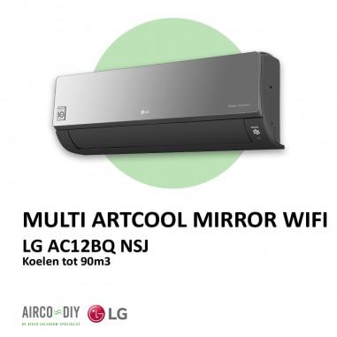 LG AC12BQ NSJ Multi Artcool Mirror...