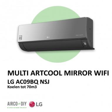 LG AC09BQ NSJ Multi Artcool Mirror...