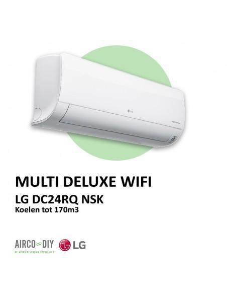 LG DC24RQ NSK Multi Deluxe WiFi wandmodel