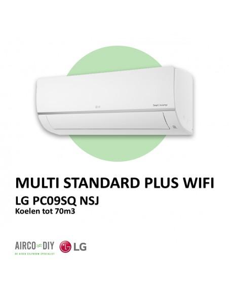 LG PC09SQ  NSJ Multi Standard Plus WiFi wandmodel
