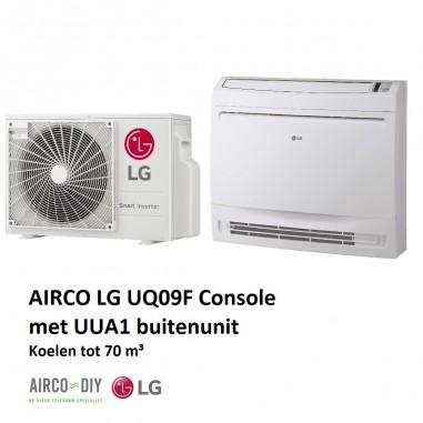 Airco LG UQ09 Single Split - 2.6KW...