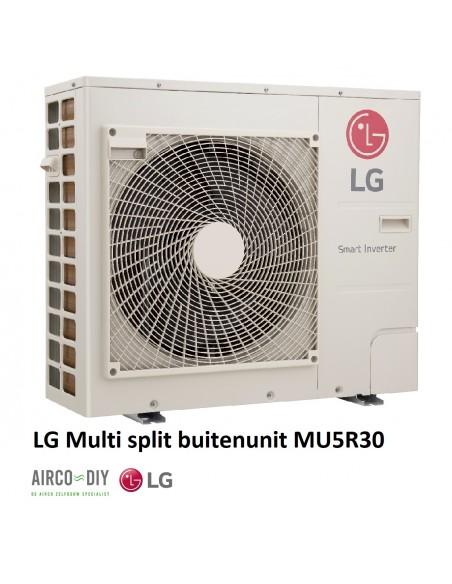 LG MU5R30 U40  Multi F invertor Buiten unit