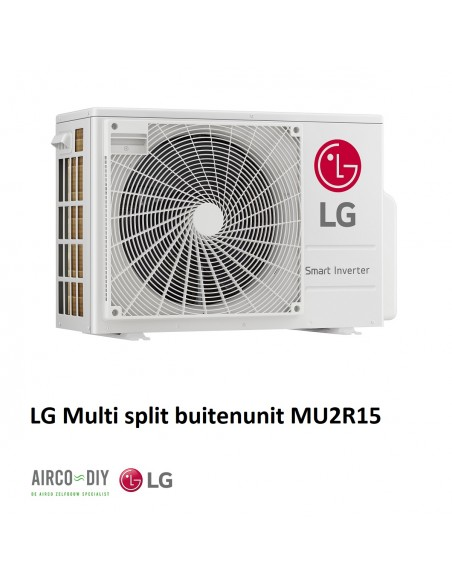LG MU2R15 UL0  Multi F invertor Buitenunit