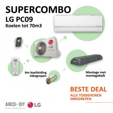 Super Combo Airco LG PC09 WiFi Single...