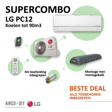 Super Combo Airco LG PC12 WiFi Single...