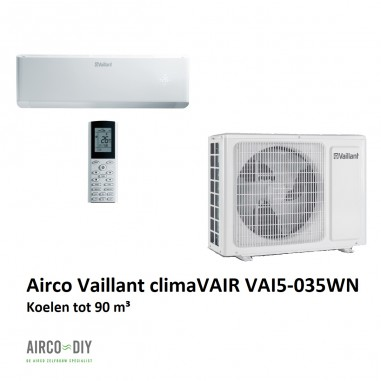 Airco climaVAIR VAI5-035WN single...