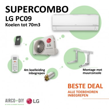 Super Combo Airco LG PC09 WiFi Single...