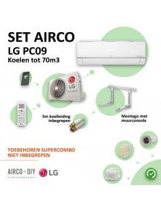 Set Airco LG PC09 WiFi...