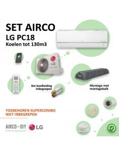 Set Airco LG PC18 WiFi...