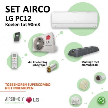 Set Airco LG PC12 WiFi Single Split...