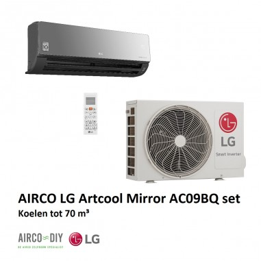 Airco LG Artcool AC09BQ WiFi  Single...