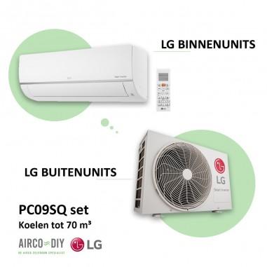 Airco  LG  PC09 WiFi  Single Split  -...